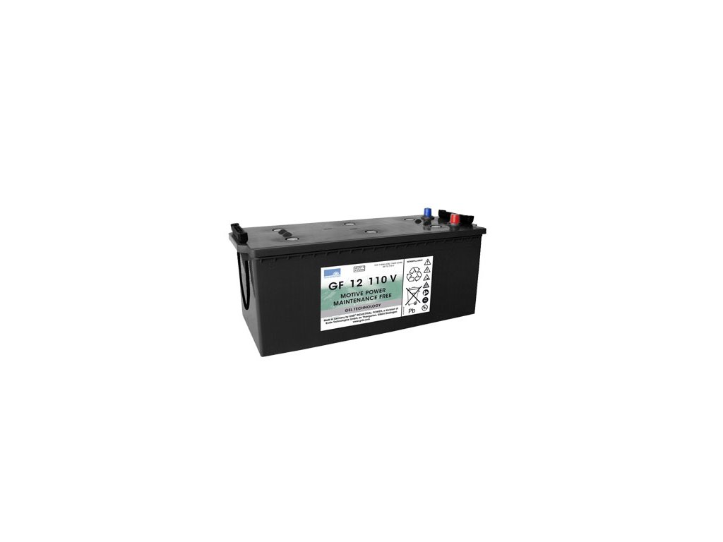 Gelový trakční akumulátor SONNENSCHEIN GF 12 110 V, 12V, C5/110Ah, C20/120Ah