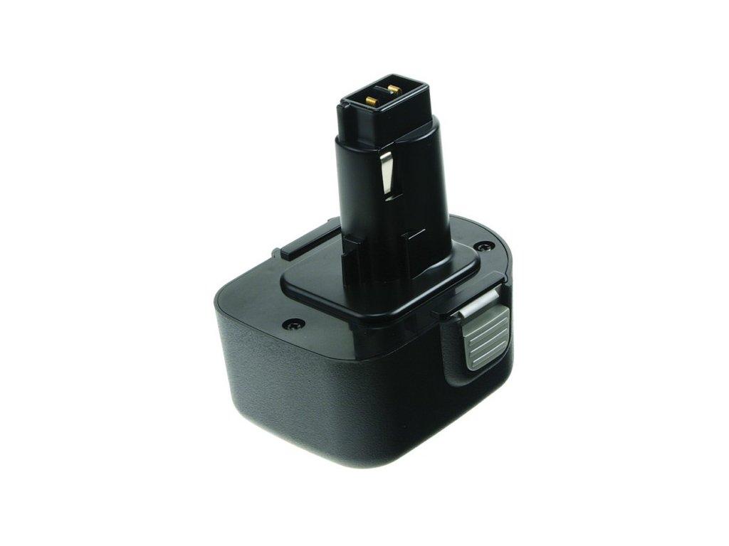 2-Power Baterie do AKU nářadí Black & Decker CD1200/CD1202GK/CD1202K/CD120GK/CD120GK2/CD12CA/CD12CAB/CD12CAH/CD12CB/CD12CBK, 2000mAh, 12V, PTH0072A