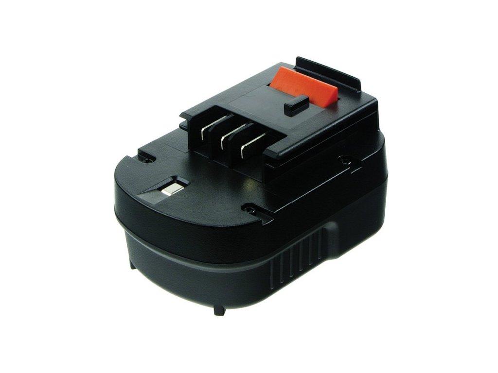2-Power Baterie do AKU nářadí Black & Decker HP126F2K/HP126F3B/HP126F3K/HP126FBH/HP126FSC/HP126FSH/HP126K/HP128F3B/HP12K/HP12KD, 2000mAh, 12V, PTH0073A
