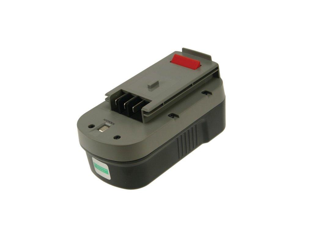 2-Power Baterie do AKU nářadí Black & Decker BDGL1800/BDGL18K-2/CD182K-2/CD18SFRK/CD18SK-2/CDC180AK/HP188F2B/HP188F3B/HP188F3K/HPD1800, 3000mAh, 18V, PTH0077A