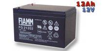 Olověný akumulátor Fiamm FG21202 12Ah 12V (VRLA)