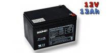 Trakční (AGM) baterie Goowei OTL12-12, 12Ah, 12V