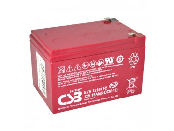 Baterie CSB EVH12150 (6-DZM-12), 12V, 15Ah