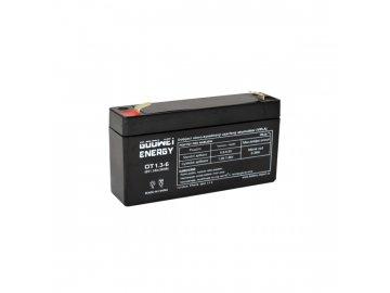 Staniční (záložní) baterie GOOWEI ENERGY OT1.3-6, 1.3Ah, 6V ( VRLA )