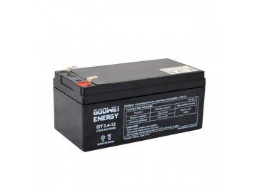 Staniční (záložní) baterie Goowei OT3.4-12, 3.4Ah,12V ( VRLA )