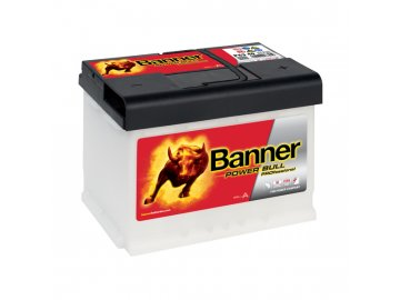 Autobaterie Banner Power Bull PROfessional P63 40, 63Ah, 12V ( P6340 )