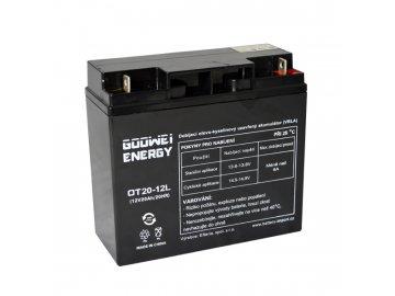 Trakční (GEL) baterie GOOWEI ENERGY OTL20-12, 20Ah, 12V