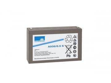 Gelový trakční akumulátor SONNENSCHEIN A506/6.5 S, 6V, 6,5Ah