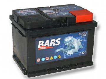 Autobaterie BARS 60Ah, 12V, 540A (242x175x175mm), bezúdržbový