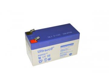 Ultracell UL1.3-12 (12V - 1,3Ah), VRLA-AGM záložní baterie