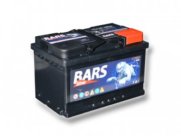 Autobaterie BARS 77Ah, 12V, 700A (276x175x175mm), bezúdržbový