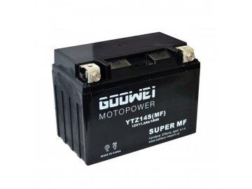 Motobaterie GOOWEI YTZ14S, 11,2Ah, 12V