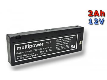 Multipower MP1222A 12V/2,3Ah