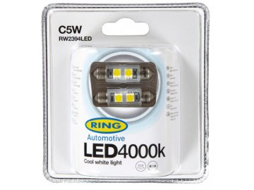 RING LED C5W 4000K 2ks