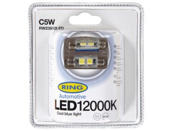 RING LED C5W 12000K 2ks