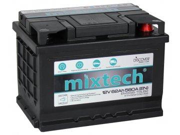 Autobaterie MIXTECH EMX MT62, 62Ah, 12V