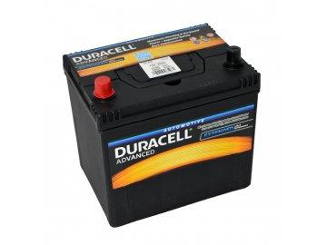 Autobaterie Duracell Advanced DA 60L, 60Ah, 12V ( DA60L )