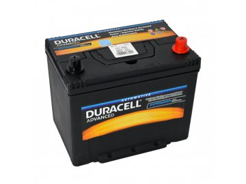 Autobaterie Duracell Advanced DA 70, 70Ah, 12V ( DA70 )
