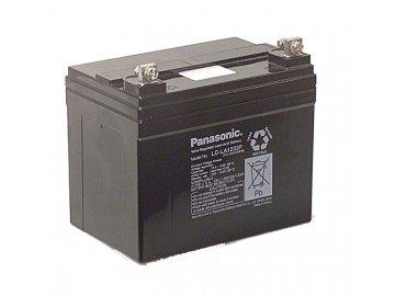 Panasonic LC-V1233P, 12V - 33Ah, záložní baterie