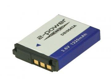 2-Power DBI9643A, 3,6 V 1100 mAh, Lithium ion neoriginální