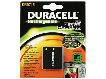 Duracell DR971, 3,7 V 720 mAh, Lithium ion