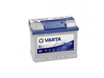 Autobaterie VARTA Blue Dynamic EFB 60Ah, 12V, N60