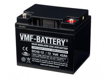 Trakční (GEL) baterie VMF DC42-12, 12V, 42Ah DEEP CYCLE