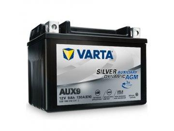 Autobaterie VARTA Silver Dynamic Auxiliary AGM 9Ah, 12V, AUX9, AGM