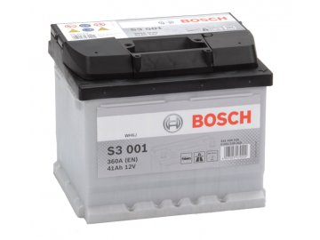 Autobaterie BOSCH S3 001, 41Ah, 12V (0 092 S30 010)