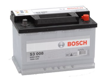 Autobaterie BOSCH S3 008, 70Ah, 12V (0 092 S30 080)