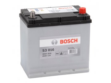 Autobaterie BOSCH S3 016, 45Ah, 12V (0 092 S30 160)