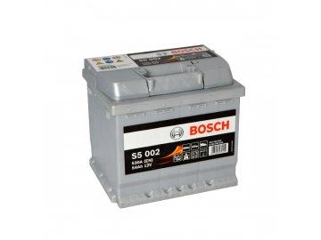 Autobaterie BOSCH S5 002, 54Ah, 12V (0 092 S50 020)