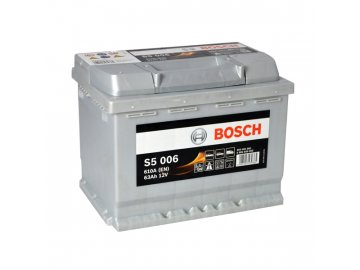 Autobaterie BOSCH S5 006, 63Ah, 12V (0 092 S50 060)