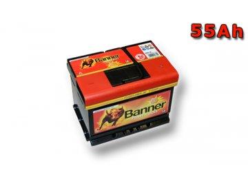 Autobaterie Banner Power Bull P55 19, 55Ah, 12V ( P5519 )