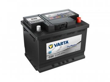 Autobaterie VARTA PROMOTIVE BLACK 55Ah, 12V, C20