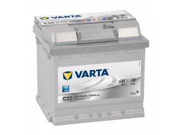 Autobaterie VARTA SILVER Dynamic 54Ah, 12V, C30