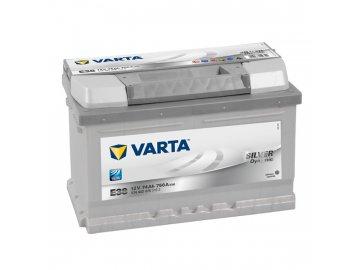 Autobaterie VARTA SILVER Dynamic 74Ah, 12V, E38