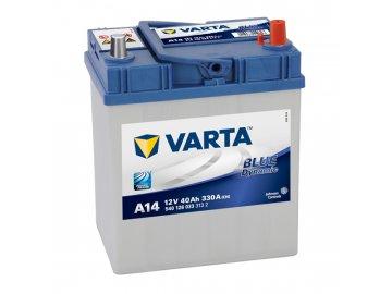 Autobaterie VARTA BLUE Dynamic 40Ah, 12V, A14