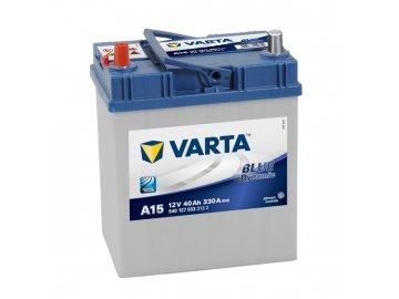Autobaterie VARTA BLUE Dynamic 40Ah, 12V, A15