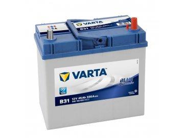 Autobaterie VARTA BLUE Dynamic 45Ah, 12V, B31