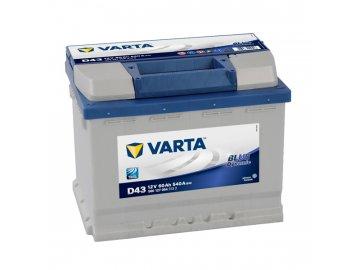 Autobaterie VARTA BLUE Dynamic 60Ah, 12V, D43