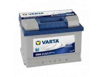 Autobaterie VARTA BLUE Dynamic 60Ah, 12V, D59