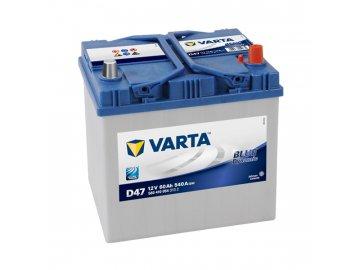 Autobaterie VARTA BLUE Dynamic 60Ah, 12V, D47