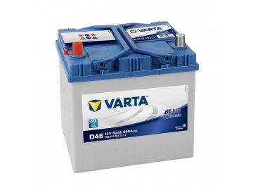 Autobaterie VARTA BLUE Dynamic 60Ah, 12V, D48