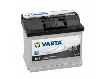 Autobaterie VARTA BLACK Dynamic 41Ah, 12V, A17