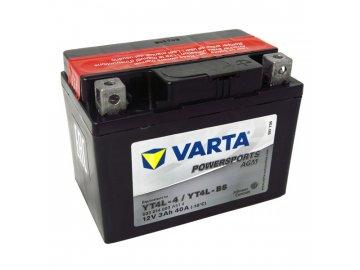 Motobaterie VARTA YT4L-BS, 3Ah, 12V