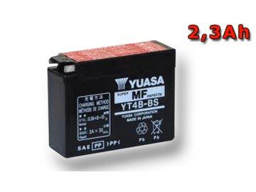 Motobaterie YUASA (originál) YT4B-BS, 12V,  2,3Ah