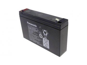 Panasonic High Power UP VW0645P1 Bleiakku 6V 7.8Ah Blei Vlies AGM B x H x T 150 x 94 x 34mm Flachstecker 6.35mm Wartungsfrei