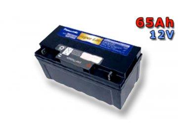 Panasonic LC-QA1265P, 65Ah, 12V, záložní baterie