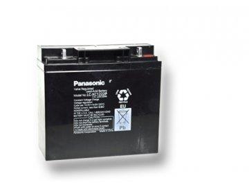 Panasonic LC-XC1222P, 12V - 22Ah, trakční baterie